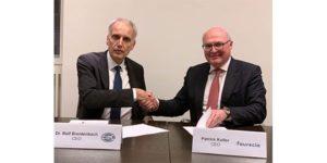 Faurecia и Hella влизат в стратегическо партньорство