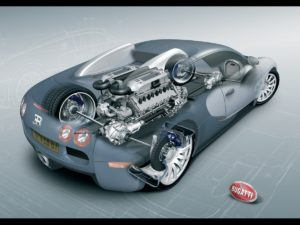 Турбокомпресорите от Bugatti Veyron струват над 42 000 долара