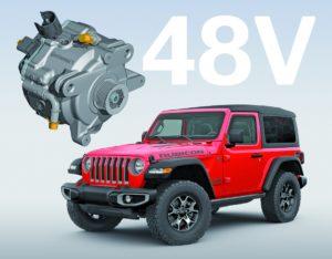 Технология на Continental е новата меко-хибридна система на Jeep Wrangler