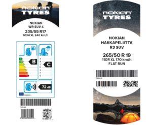 NOKIAN TIRES обновява етикетите на гумите – новият дизайн подчертава Скандинавското качество
