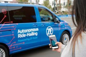 Интелигентно споделяне на автономното шофиране: ZF дава възможност за нови форми на градска мобилност