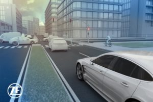 Мощност на сензорите на ZF: автономно шофиране с всички сетива