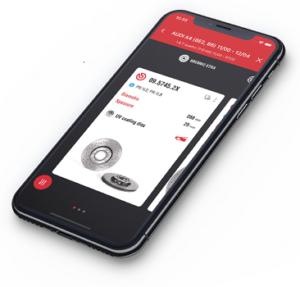 Каталогът на BREMBO в мобилна версия – Brembo Parts е наличен за Ios и Android устройства