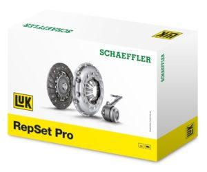 Различен дизайн на притискателните дискове при LuK RepSet със SAC