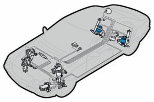 Правила при подмяната на задните въздушните пружини на Mercedes E клас W211 / S211 с или без Airmatic DC!