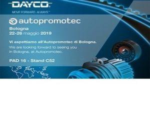Dayco се представя в Autopromotec 2019