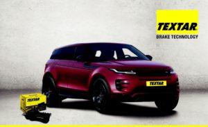 Спирачни накладки за новия Land Rover Range Rover Evoque от TEXTAR