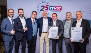 Две награди за Valeo на среща на доставчиците на Temot International