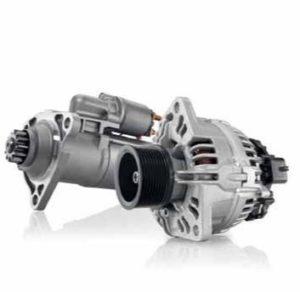 Стартери и алтернатори на Bosch: пълна мощност за товарни превозни средства