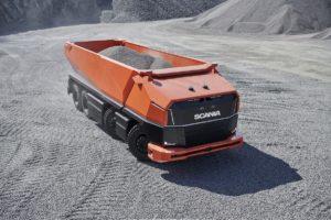 Scania AXL, напълно автономен концептуален камион без кабина