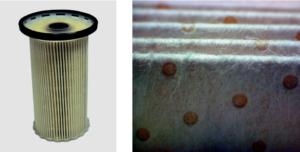 """Елементи за горивен филтър с покритие от микро и нановлакна по технология """"meltblown"""""""