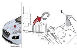 Индикаторът за неизправност на двигателя (MIL) свети по време на шофиране на Peugeot 3008
