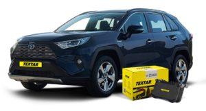 F1rst to market – спирачни накладки за новата Toyota RAV 4