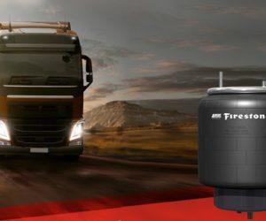Firestone Industrial Products дебютира с нови въздушни пружини за камиони Euro 6 в EMEA