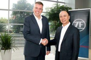 ZF и Wolong Electric Plan създават съвместно предприятие за производство на електродвигатели и компоненти