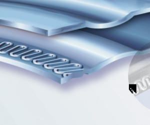 MetaloflexTM – метална слоеста гарнитура на цилиндровата глава: щанцовани уплътнения