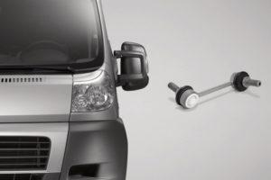 ZF Aftermarket доставя части за окачване за много модели лекотоварни автомобили