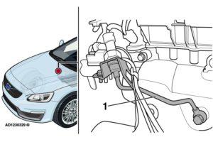 Колеблива работа на двигателя и светеща MIL лампа на Volvo V60