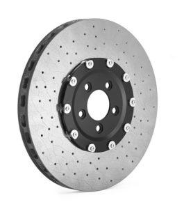 Модерният въглероден керамичен спирачен диск извежда спирачната сила на следващо ниво