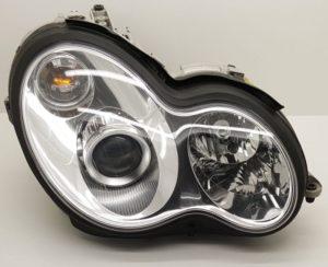 Какво трябва да направим след смяна на ксеноновите лампи на Mercedes – Benz