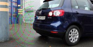 Ултразвукова помощ за паркиране