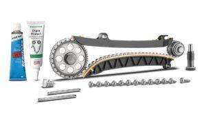 Ново комплексно решение за афтърмаркет пазара: комплект ангренажна верига със зъбно колело за коляновия вал от INA  за 1.2 l TSI двигатели от VW Group