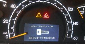 Проблеми с ключа за запалване на Mercedes-Benz