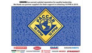 DAYCO отличен с наградата PACCAR за постижения в качеството