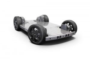 KYB сътрудничи на модулна EV платформа от ново поколение