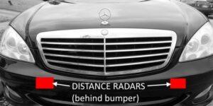 Проблеми и решения на радарните сензори на Mercedes
