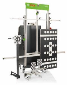 DAS 3000 – Новото универсално устройство за калибриране и регулиране на предни камери и радари