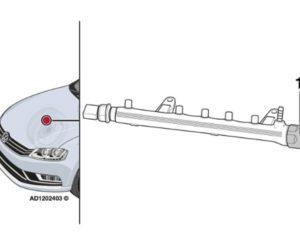 Тресене на двигателя на празен ход – Volkswagen Passat 2012 г.