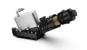 Маслен модул на UFI Filters за BMW от второ поколение 6-цилиндрови двигатели