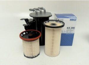 Различни по височина елементи на горивния филтър в един и същ корпус на VAG