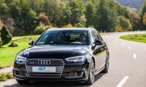 Новите комплекти ap coilover осигуряват спортно задържане на пътя в Audi A4 от серията B9