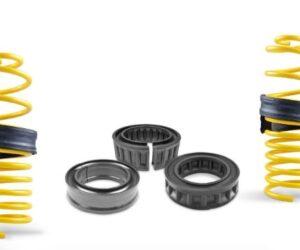 Правилно монтиране на гумени буфери на спирални пружини