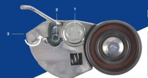 Правилна настройка на обтегача на ангренажния ремък за Hyundai и Kia
