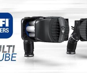 UFI MULTITUBE: Въздухът на двигателя, който повишава производителността на Maserati MC20