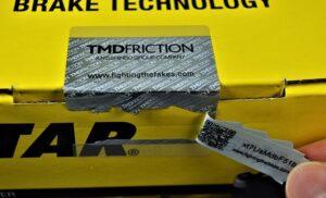 Етикетите за сигурност се справят с фалшифицирането на автомобилни части
