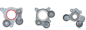 Задвижвани от ремък старт-стоп двигатели: страничен обтегач и други иновации