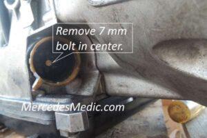 Смяна на куплунга на трансмисията на Mercedes Benz 722.6
