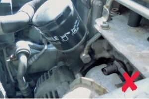 Неизправност на алтернатора поради проникване на масло