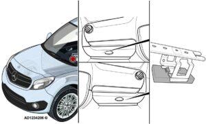 Mercedes-Benz Citan: неработещо осветление, мигачи и клаксон