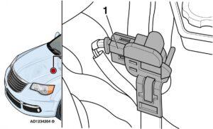 Chrysler Grand Voyager: предупредителна лампа за неизправност на двигателя